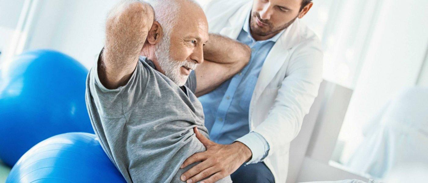 Fizjoterapia - działy